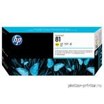 HP №81 PrintHead Yellow C4953A