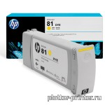 HP №81 Cartridge Yellow (680ml) C4933A