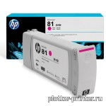 HP №81 Cartridge Magenta (680ml) C4932A