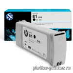 HP №81 Cartridge Black (680ml) C4930A