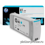 HP №81 Cartridge Cyan (680ml) C4931A