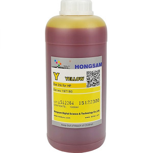 Чернила DCTec для HP T610 Yellow (Y) 1000 ml