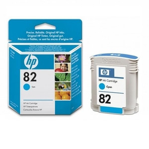 HP №82 Cyan Ink Cartridge C4911A