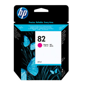HP №82 Magenta Ink Cartridge C4912A