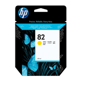 HP №82 Yellow Ink Cartridge C4913A