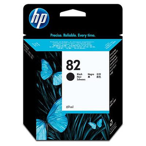 HP №82 Black Ink Cartridge CH565A