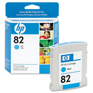 HP №82 Cyan Ink Cartridge CH566A