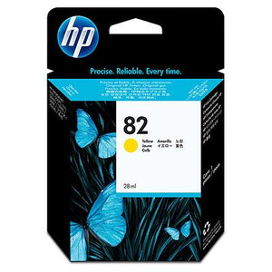HP №82 Yellow Ink Cartridge CH568A